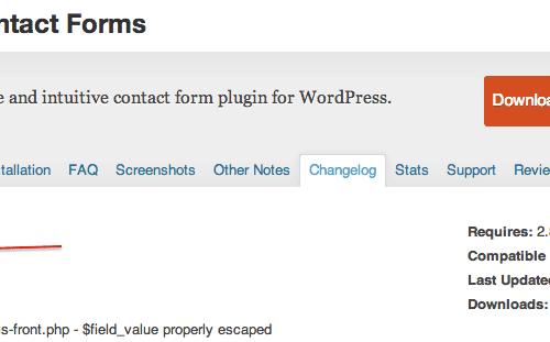 custom contact form plugin