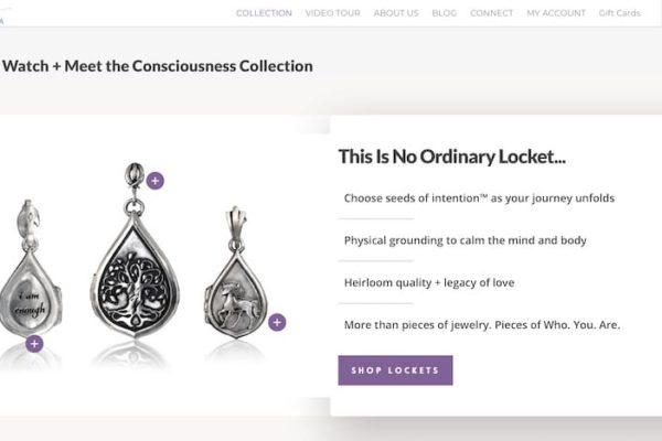 #jewelry #salient #ecommerce #spiritual